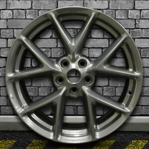Full Face Hyper Bright Charcoal Oem Wheel For 2009 2011 Nissan Maxima 19x8