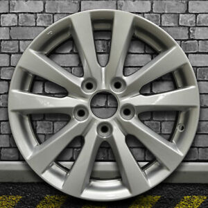 Full Face Bright Medium Silver Oem Wheel For 2012 Honda Civic 16x6 5