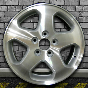 Machined Fine Metallic Silver Oem Wheel For 1998 2000 Honda Accord 16x6 5