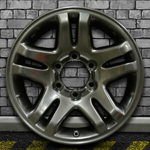 Hyper Bright Smoked Silver Oem Factory Wheel For 2003 07 Toyota Tundra 17x7 5