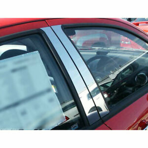 4p Stainless Steel Pillar Post Trim Fits 2008 2011 Chevy Aveo By Luxury Fx