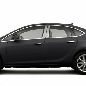 Pillar Post Covers For 2012 2015 Buick Verano Stainless Steel 4p
