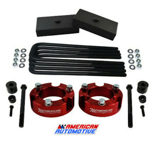 2 Front 1 Rear Leveling Lift Kit Diff Drop For 2005 2020 Toyota Tacoma 4wd