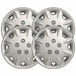15 Silver Clip on Wheel Covers For 1996 1997 Honda Accord
