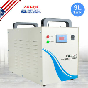 Us Fast Ship Cw 3000 Industrial Water Chiller Cooling Device For Laser 110v 60hz