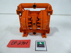 Wilden Aluminum 1 Inlet 75 Outlet Diaphragm Pump Dp2701 dp2701