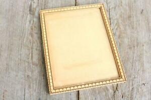 Ornate Frame Wood Hearts Wooden Carved Tan Creme Vintage Estate Find Old Hq