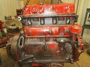 600 601 640 631 650 651 660 661 Tractor Ford 134 Running Long Block Engine