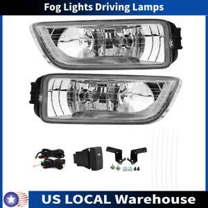 For 2003 2007 Honda Accord 4dr Sedan Fog Lights Driving Lamps W Wiring Switch