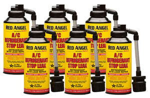 Red Angel A C Stop Leak Conditioner 4 5 Oz 6 Pack Blu00222 6pk