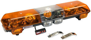 Wolo Infinity 1 Amber Halogen Roof Mounted Light Bar Xxxwol7000 a