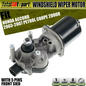 Windshield Wiper Motor W o Washer Pump For Honda Accord 2003 2007 Coupe 43 4027