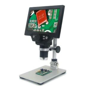 Mustool G1200 Digital Microscope 12mp 7 Inch Large Color Screen Large Base Lcd