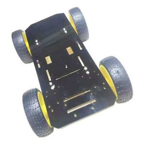 Smart Robot Car Chassis Kit With Motors Speed Encoder For Diy