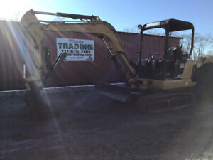 2003 Caterpillar 303 5 Hydraulic Mini Excavator W Hydraulic Thumb 3500 Hours