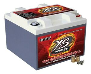 Xs Power Battery Xs Power Agm Battery 12v 550a Ca P N S925