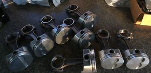 400 Sbc Forged Pistons And Rods 4 155 Bore