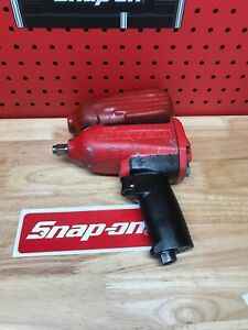 Snap On Tools Super Duty Impact Air Wrench 1 2 Drive Mg725 Recently Rebuilt