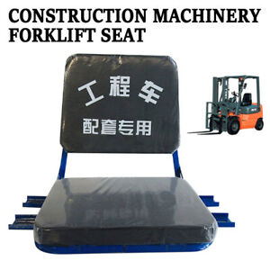 Tractor Seat Headrest Seat Cushioned Seat Forklift Seat Usa