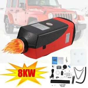 Air Diesel Parking Fuel Heater 12v 8kw Lcd Switch 10l Tank For Truck Boat Car Us