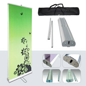 Us Stock 3pcs 33 w X 79 h Double Sided Roll Up Banner stand Only High Quality