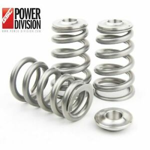 Gsc 5066 Conical High Pressure Valve Spring With Ti Retainer For The Toyota 2jz