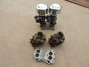 Adapter 4 barrel 94 Carbs Rat Rod Original Vintage Custom Hot Rod