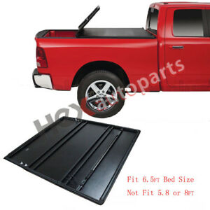 New Tonneau Cover Soft Tri Fold For Ram 1500 2500 3500 Pickup Truck 6 5ft Bed