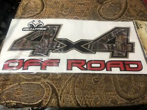 Realtree 4x4 Off Road Truck Bed Decal Stickers Chevy Ford Gm Realtree Mossyoak