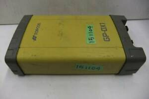 Topcon Gps Surveying Receiver Gnss Class 1 2 Frequency Gps Receiver Gp dx1 Used