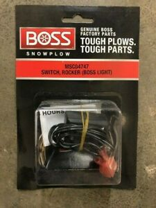 Boss Snow Plows Boss Light Rocker Switch Msc04747