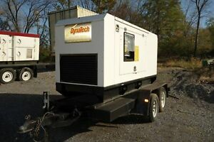 28kw Perkins fg Wilson Towable Standby Generator Super Sound Attenuated Hou