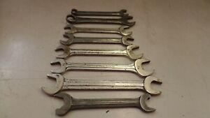 8 Vintage Blue point Snap on Wrenches Usa Made Tools Mechanic Tools Automotive 2