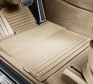 Genuine Bmw Rubber Floor Mats With Carpeted Heel Pad 51472231953