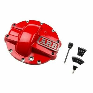 Arb 750005 Iron Red Differential Cover For Chrysler 8 25 Rear Axles