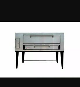 Marsal Sd 448 Single Pizza Deck Oven Natural Gas