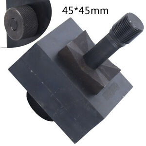 1set Round square Hydraulic Hole Punch Die Stainless Steel Professional 45mm Usa