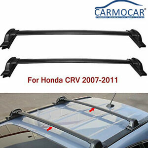 Pair Car Top Roof Rack Cross Bars Luggage Cargo Carrier For 07 11 Honda Crv