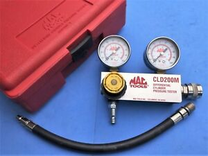 Mac Tools Differential Cylinder Pressure Tester In Case 14mm Cld200m