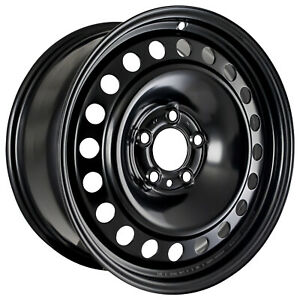 03548 Refinished Ford Explorer 2005 2010 17 Inch Steel Wheel Rim Painted Black