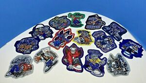 Lot Of 15 2002 Street Breed Stickers Collectors Vending Machine Cardboard Folded