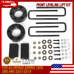 3 Front 2 Rear Leveling Lift Kit For Silverado Sierra 1500 4wd 2wd 2007 19