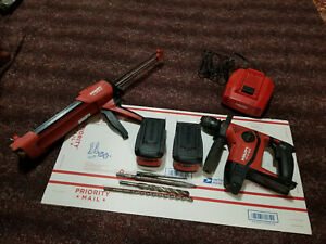 Hilti Te6 a 36v Lithium Ion Cordless Rotary Hammer Kit With Big Batteries more