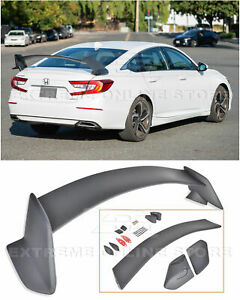 Eos Type R Style Rear Spoiler Trunk Wing Abs For Honda Accord 18 Up Jdm Lid