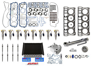 2003 6 0l Ford Powerstroke Diesel Injector Complete Resolution Kit 3051