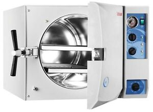 New Tuttnauer Fda 3870m Manual Autoclave Sterilizers For Dental Medical Offices
