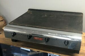 Vulcan Hart Model 3 30 Natural Gas Flat Top Grill Griddle Commercial Stainless