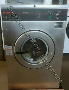 Speed Queen Scn040gy2 Washer extractor 40lb 220v 3ph Coin Reconditioned