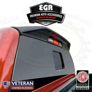 Egr Black Truck Cab Wing Spoiler Fits 2019 2020 Ford Ranger All Models 983559