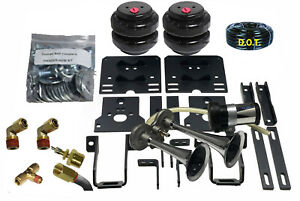 B Towing Leveling Kit Airbag Assist Ford F250 350 2005 2010 Srw Horn